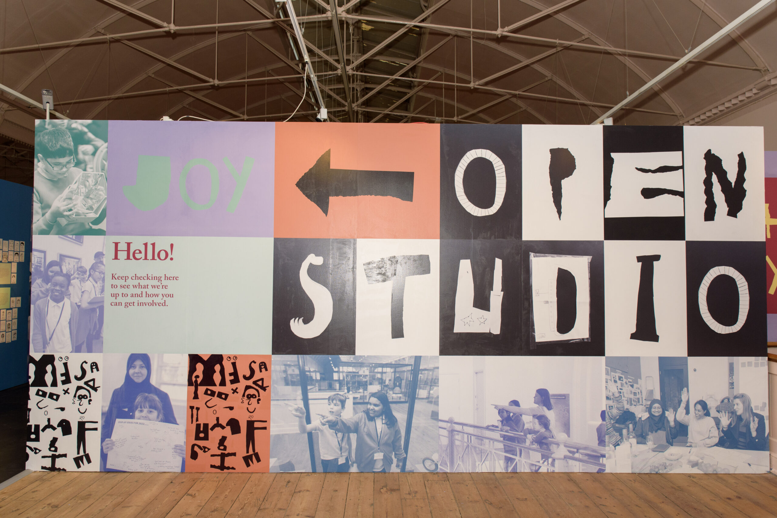 ©Entrance to the Open Studio co-design space, courtesy of the V&A Museum of Childhood
